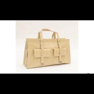 Francesco Biasia Bags - Francesco Biasia Beige Leather Handbag cb05907d808d0